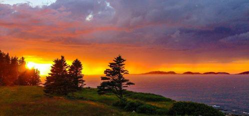 Great Duck Island Sunset
