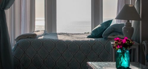 Great Duck Island View of Bed
