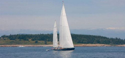 Great Duck Island House | Sailboat