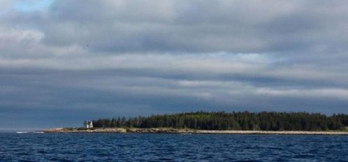 Great Duck Island House | Shoreline from the sea