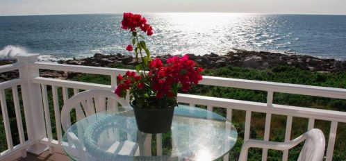 Great Duck Island House | View from Porch