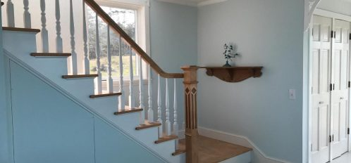 Great Duck Island House | Interior | Stairwell
