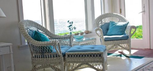 Great Duck Island House   Interior   Seating Area